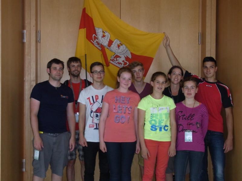 Die Teilnehmer der Turnabteilung des TBR