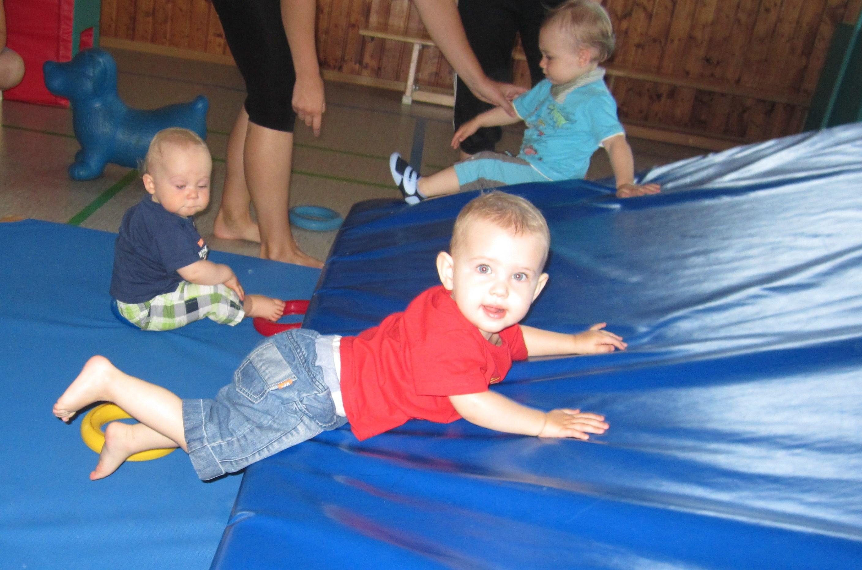 Baby Bewegungszeit