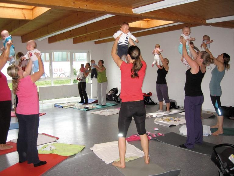 KnuddelFit –  Fitness für Mütter mit Baby